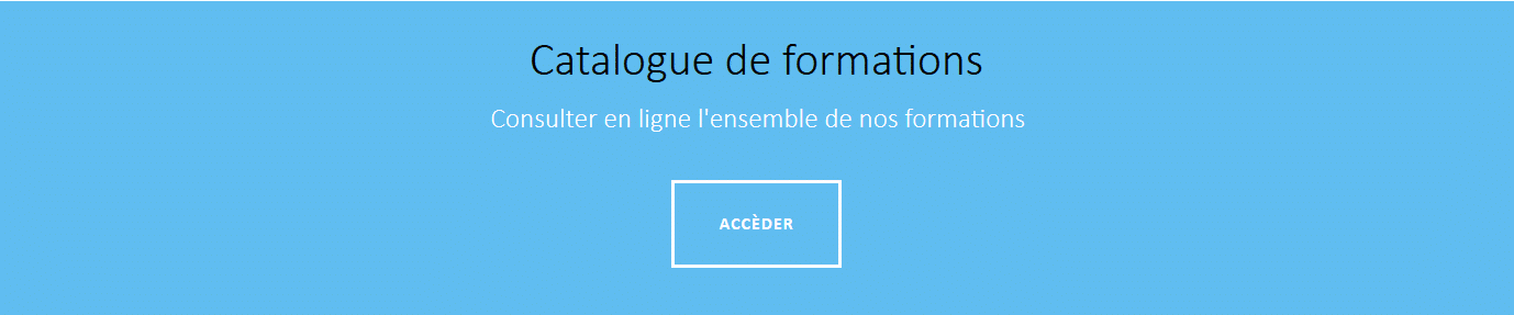 Catalogue de formations informatiques